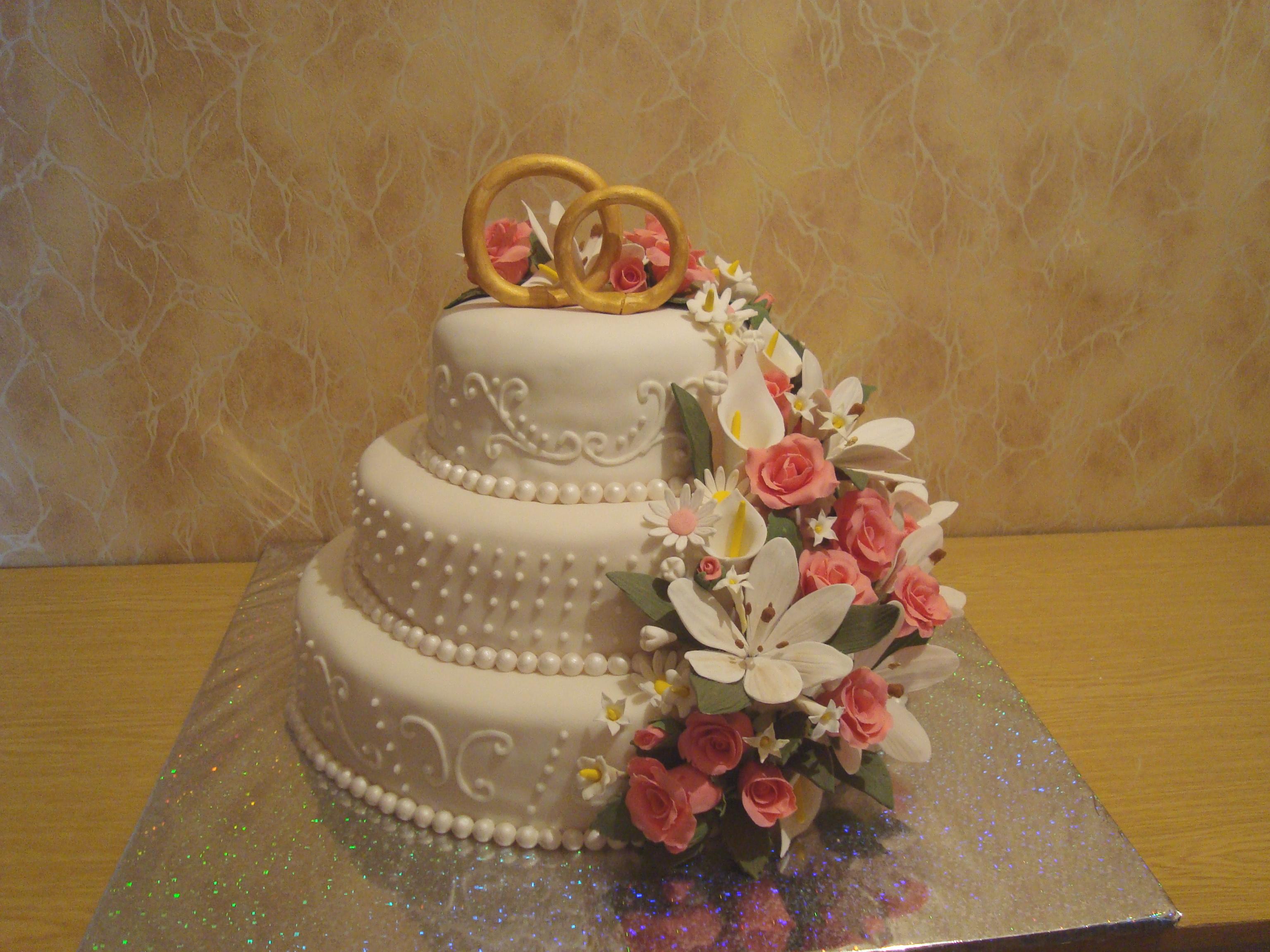Свадебные тортики: 8482 фото свадебных тортов 2018 года на