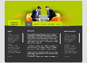 Accountants & Co Template - This beautiful Corporate Website is designed to showcase and sell your best Consulting creations. With no downloads and programming needed, high quality professional galleries and an easy to customize layout this design is waiting to present you and your works to the world
