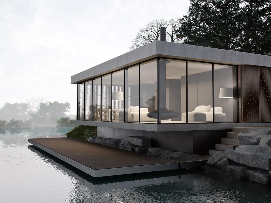 проекты загородных домов в японском стиле
