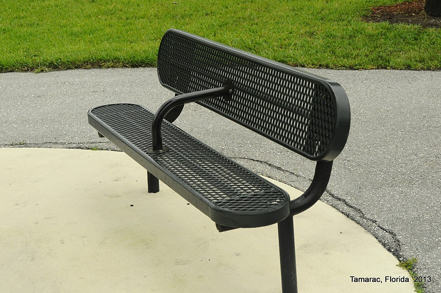 Sports Park Bench