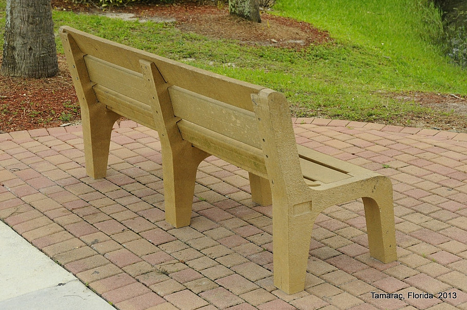 Community Center Bench