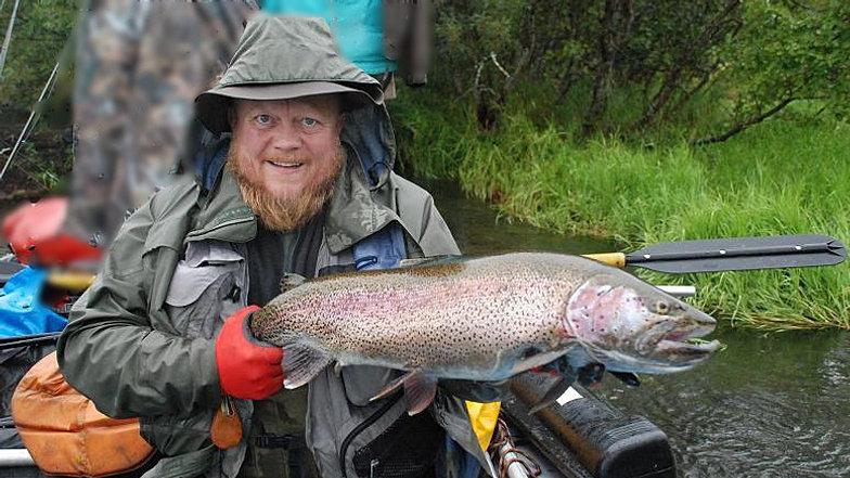 рыбалка на реке пак