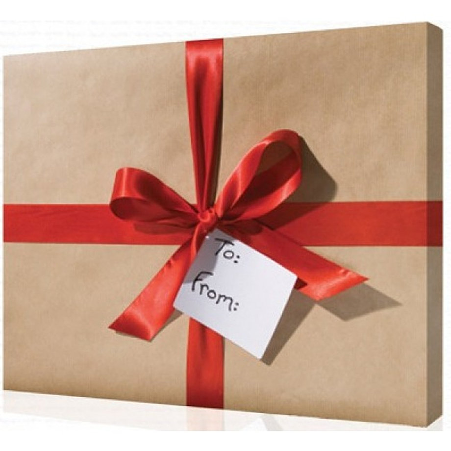 Упаковать картину на подарок