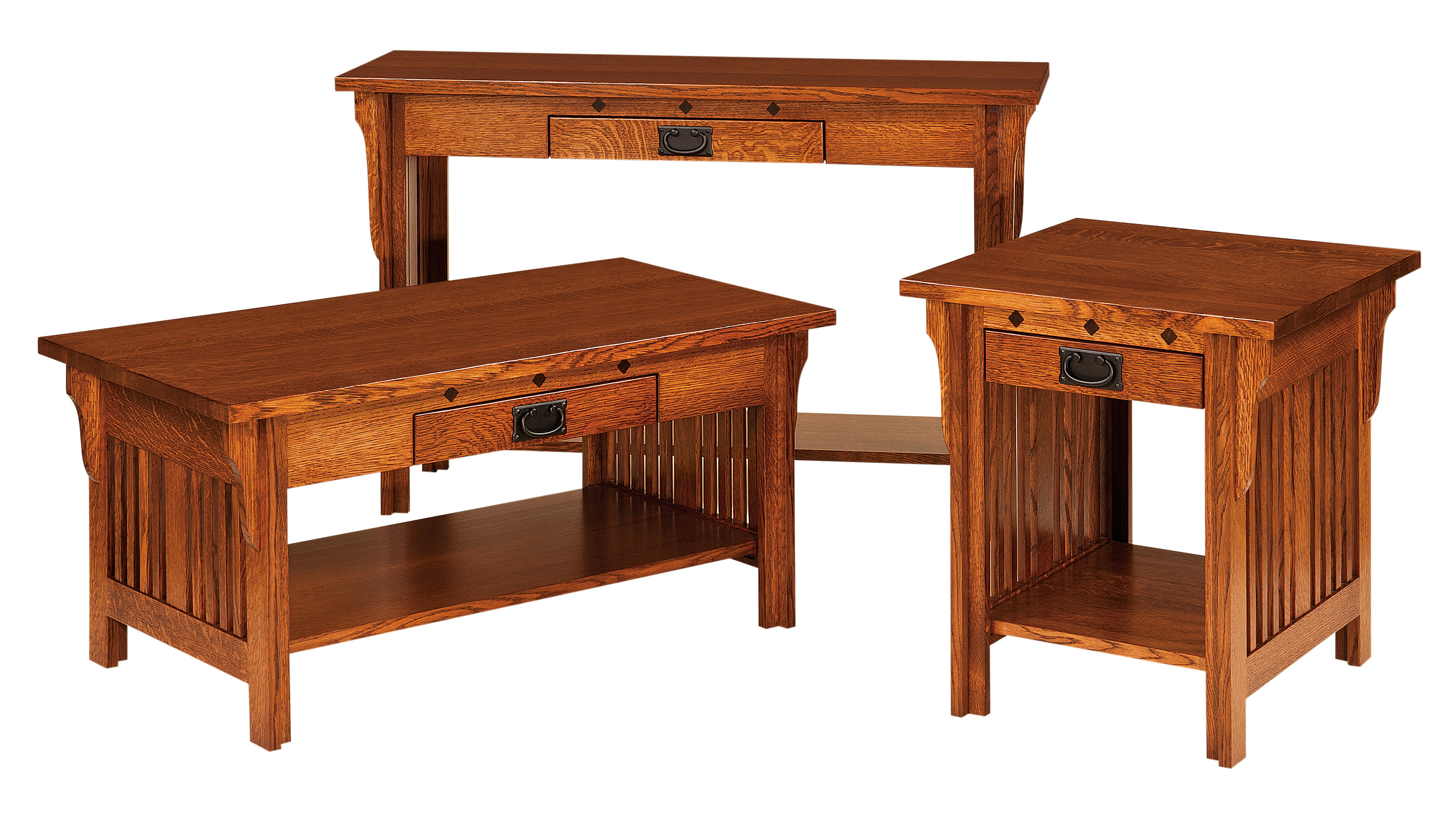 Amish crib for sale - Royal Mission Occasional Table Set