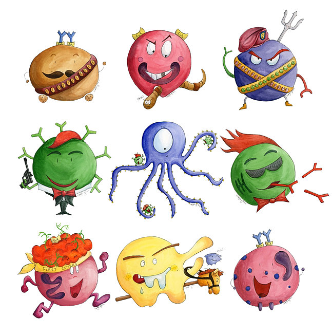 Immune System Cartoon | lol-rofl.com