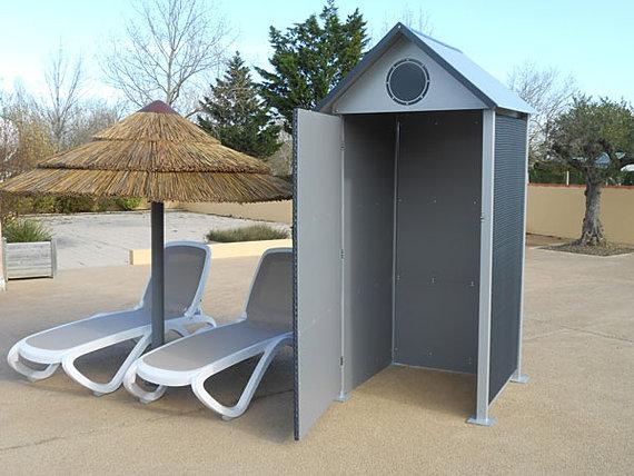 cabines de plage mobicamp cabine tress e. Black Bedroom Furniture Sets. Home Design Ideas