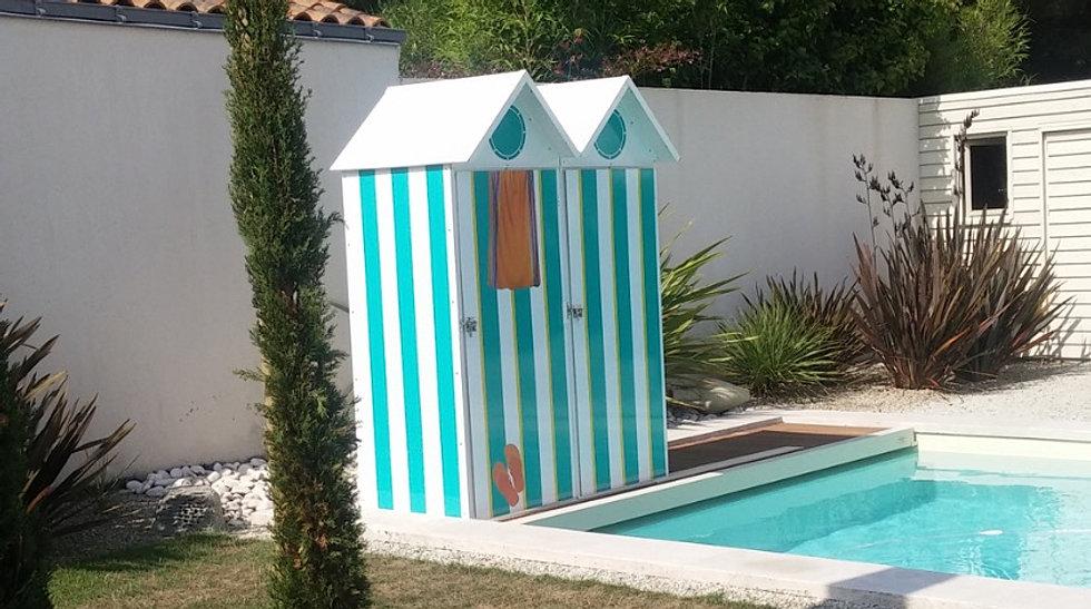 cabines de plage mobicamp. Black Bedroom Furniture Sets. Home Design Ideas