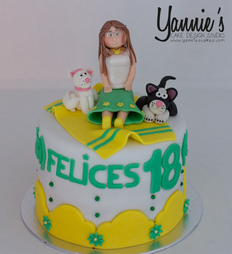 Yannies Cake Design Studio, Tartas Valencia Wix.com
