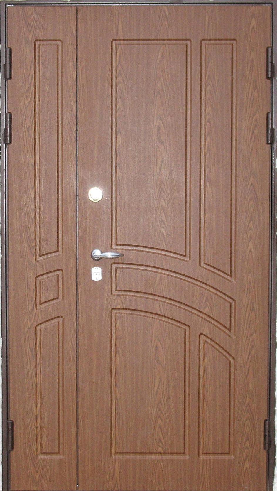 двухстворчатые железные двери в подольске