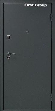 дверь стальная с витражом электроугли