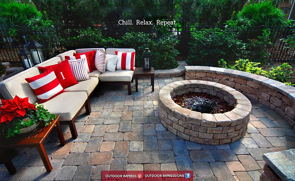 how to prepare area for fire pit box