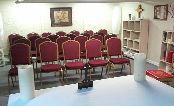 New Chairs in the CCM Chapel