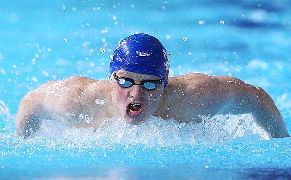 University Of Stirling Swim Team Cameron Brodie