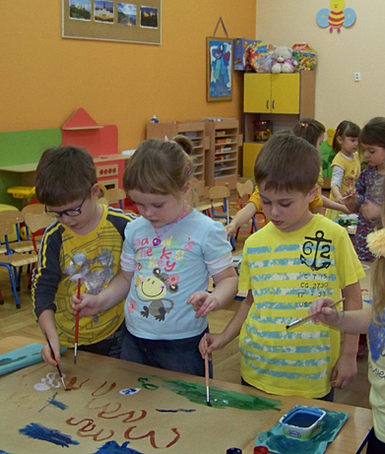 ramowy rozkład dnia w przedszkolu