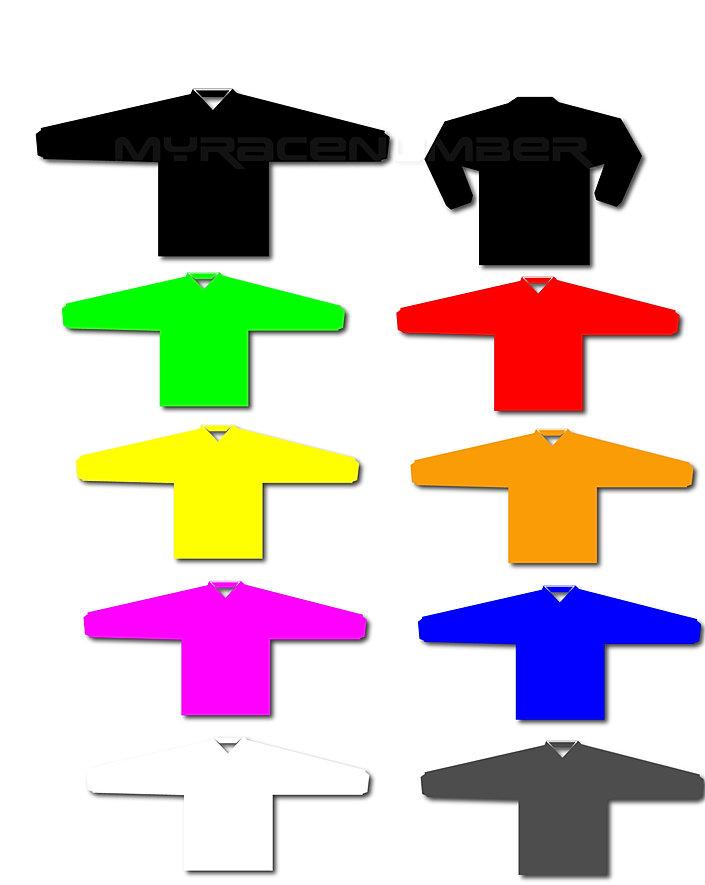 custom motocross jerseys solid color blank motocross jerseys. Black Bedroom Furniture Sets. Home Design Ideas