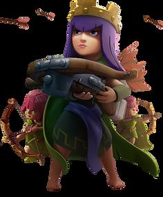 Clash Of Clans Max Level Archer Queen