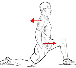 hip flexor pressure physiotherapy