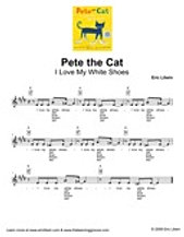 Pete The Cat I Love My White Shoes Lyrics
