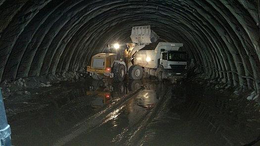 Construção de Túnel SP MG GO PA RO