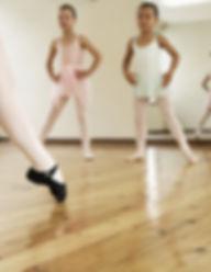 年轻的芭蕾课