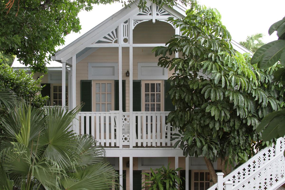 Duval House Balcony