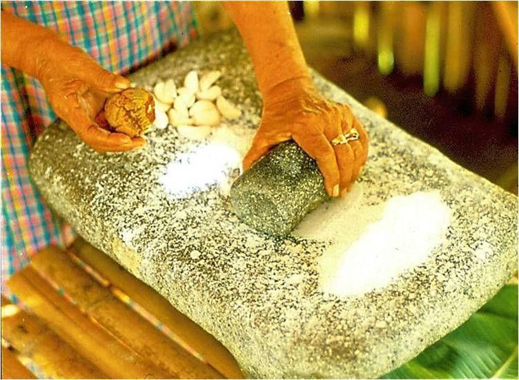 Cycad flour