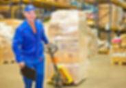 סידור מחסנים  ומיון סחורה