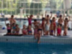 Stage natation enfant Poseidon Woluwe Bruxelles