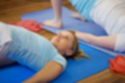 Séances de 1 heure 30 composées de plusieurs exercices de renforcement et d'assouplissement