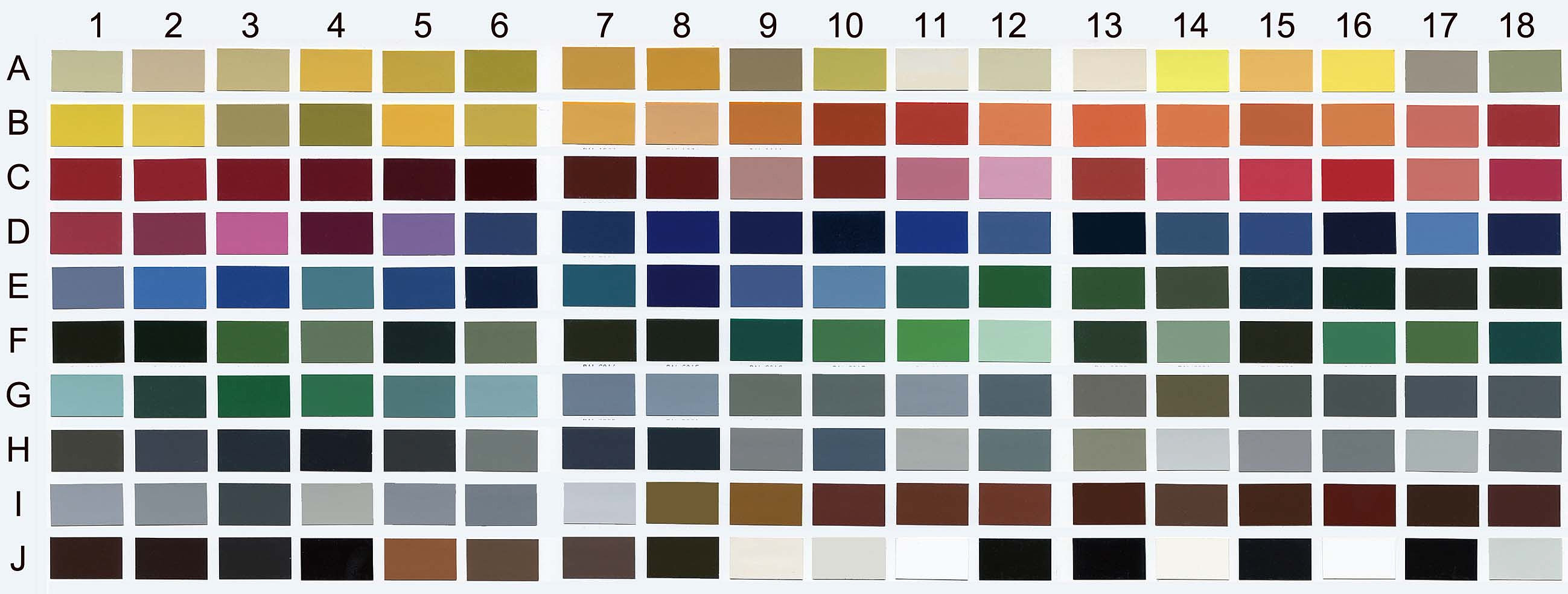 Simulfacades couleurs nuancier for Nuancier couleur facade