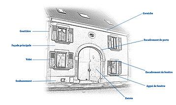 Simulateur facade maison 1 couleur for Simulation couleur facade