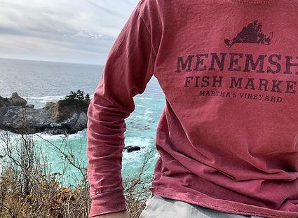 MFM Martha's Vineyard long sleeve Island shirt