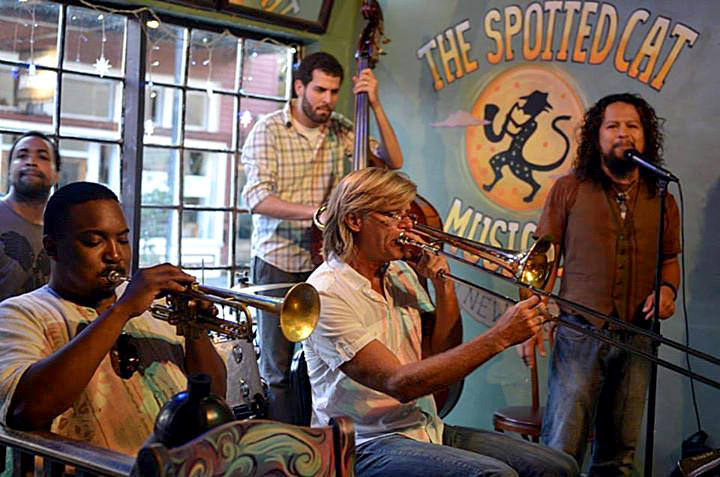 New Orleans jazz at the Spotted Cat