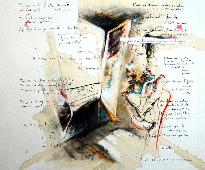 lemoine benoit peintre contemporain bureau de tabac livre unique