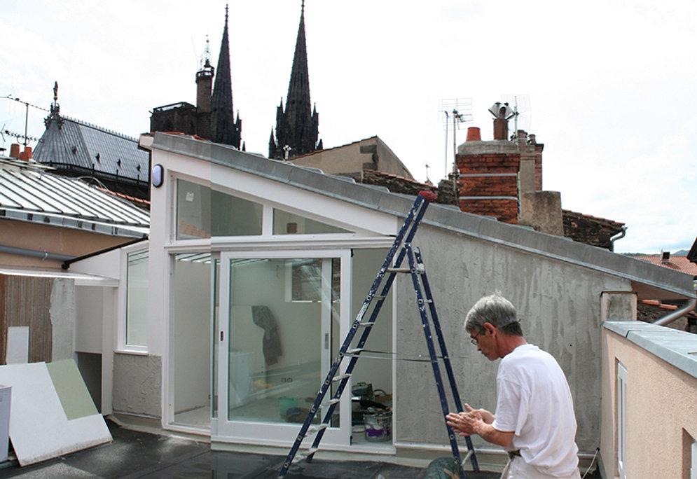 X o architectes extension - Jardin d hiver henri salvador clermont ferrand ...