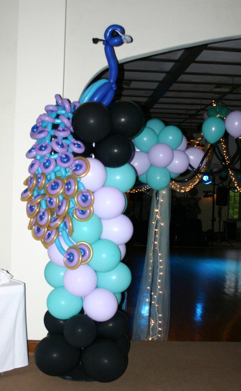 Balloongenuity ingenious balloon creativity central for Balloon decoration ideas for sweet 16