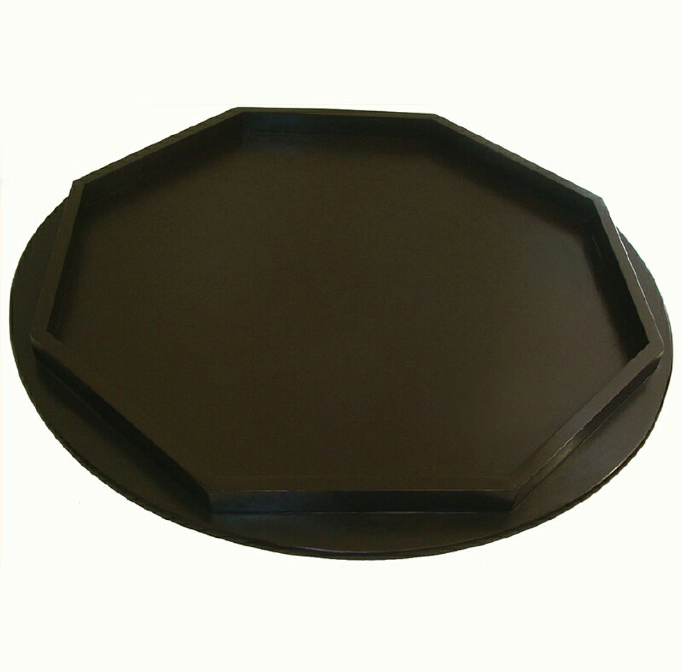 Decorative Ottoman Trays And Serving Trays