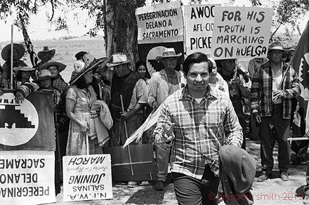 Michael Peña, March to Sacramento