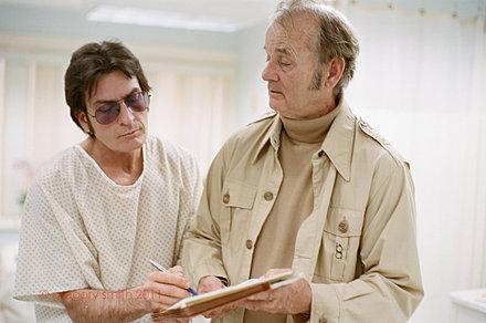 Charlie Sheen, Bill Murray