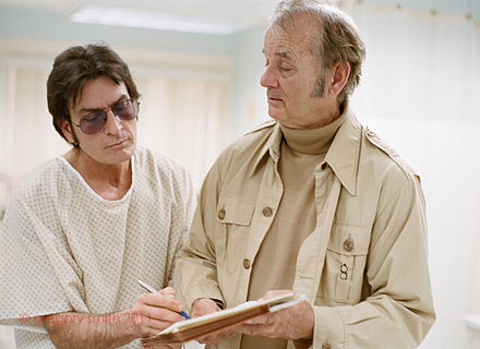 Charlie Sheen, Bill Murray