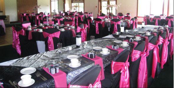 Pink Black And Silver Weddings | Wedding Ideas