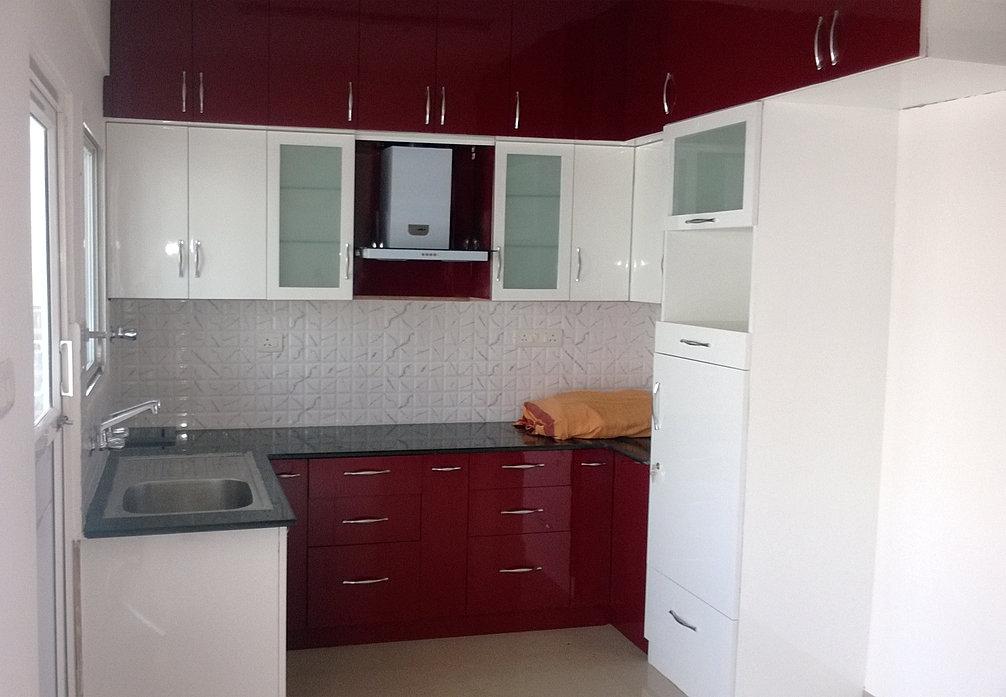 Bangalore home interiors bangalore woodwork for Kitchen cabinets bangalore