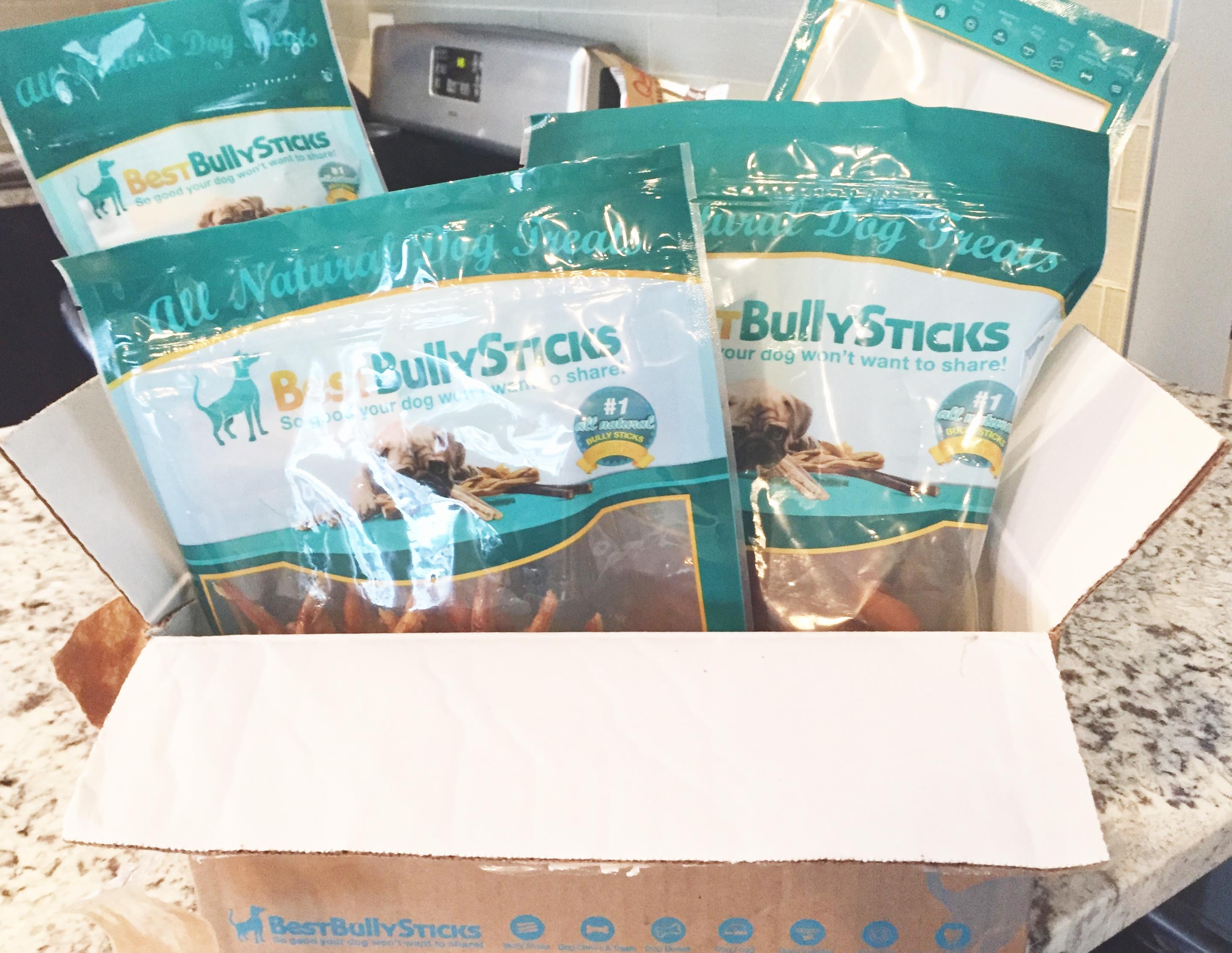 best bully sticks review and giveaway the diy dog mom. Black Bedroom Furniture Sets. Home Design Ideas