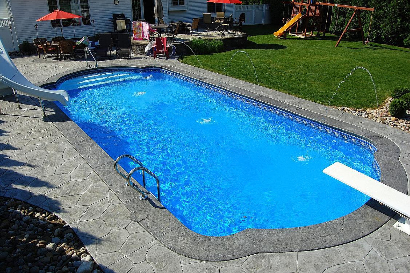 Delgallo country pools inground pools and swimming pools Liner 5 50 x 1 32