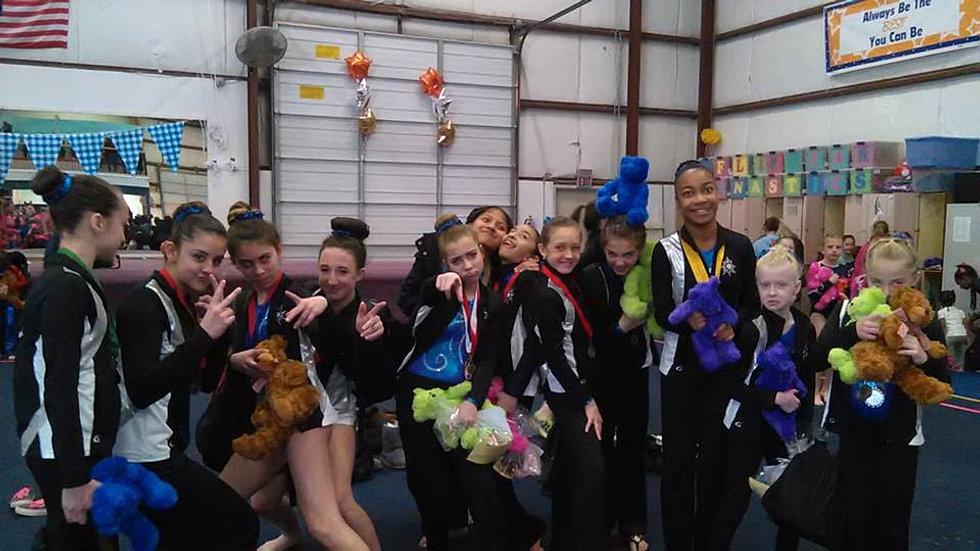 Apollo Gymnastics Our Girls Team