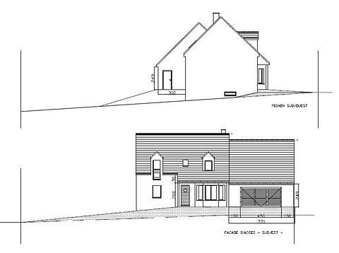 design plans pour autorisation urbanisme. Black Bedroom Furniture Sets. Home Design Ideas
