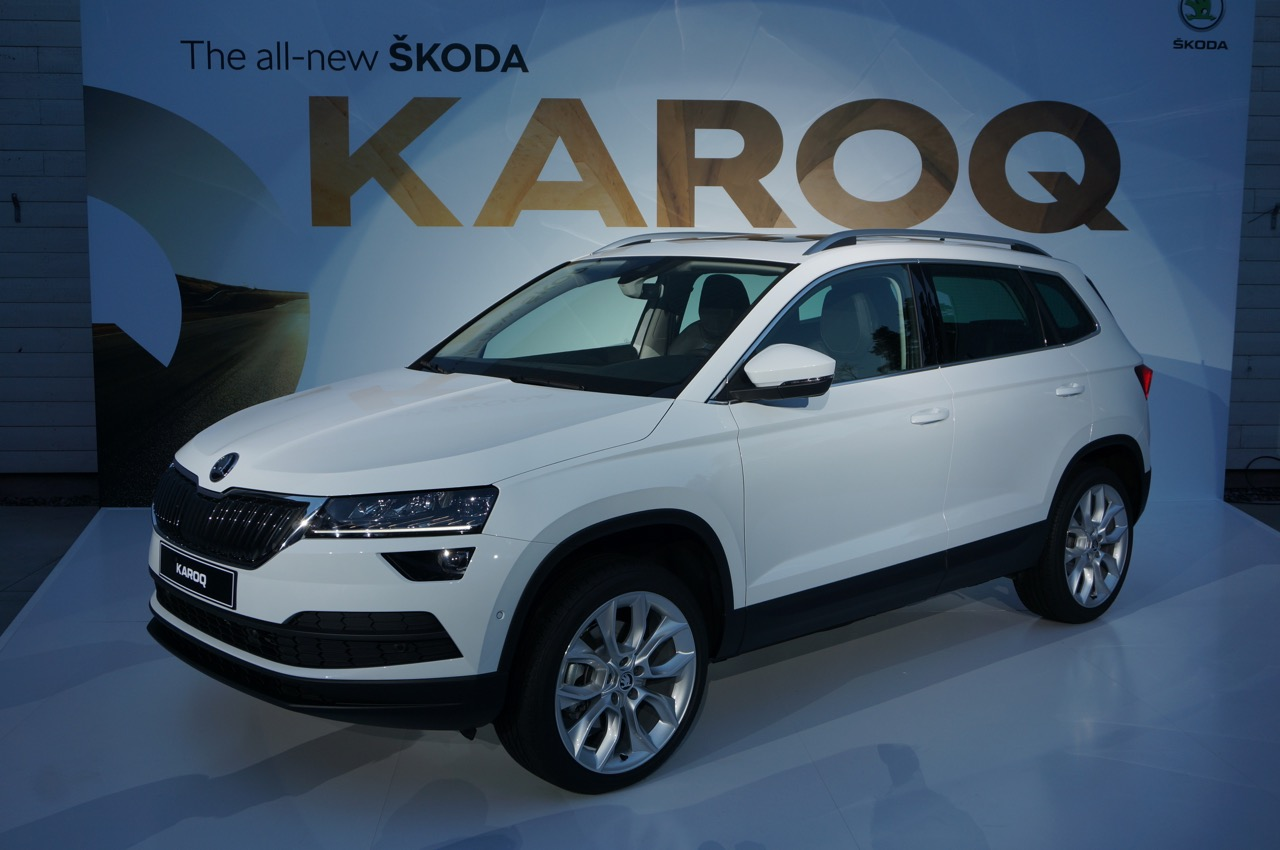 skoda unveils karoq compact suv car reviews driver 39 s seat. Black Bedroom Furniture Sets. Home Design Ideas