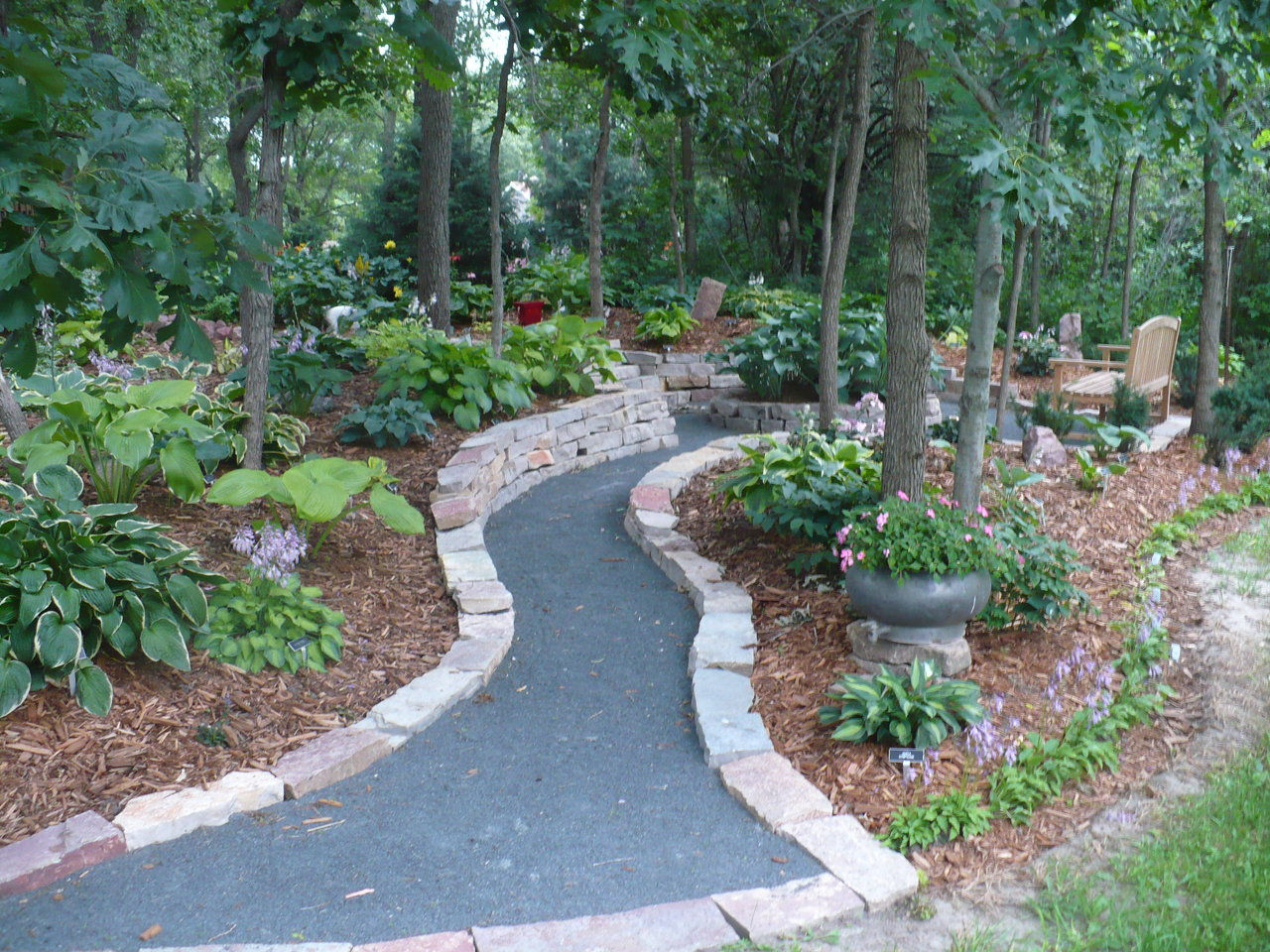 Crushed Stone Pathways : Crushed rock pathway ideas stunning walkway and path