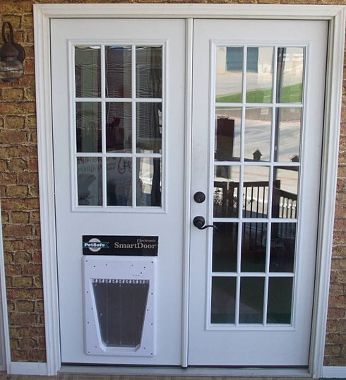 Doors4petsandpeople home french doors 4 pets for Sliding doors that look like french doors
