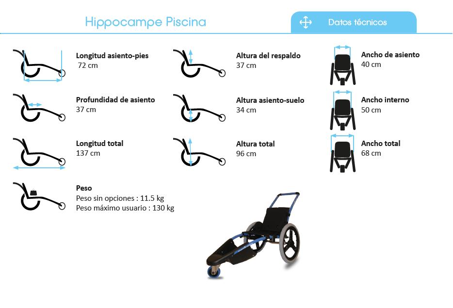Hippocampe Piscina Dato Técnicos